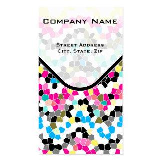 Business Card mosaic texture