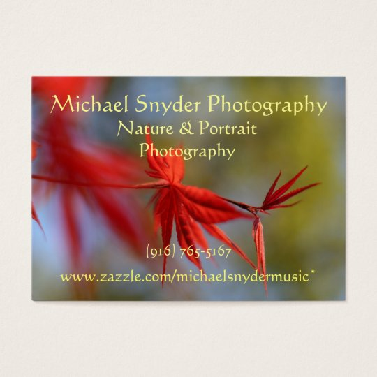 Business Card, Nature Business Card