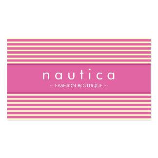 BUSINESS CARD :: nautical striped 10