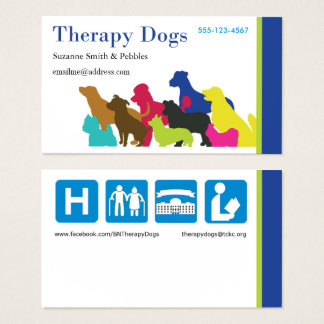 [Business Card - Personalized] Therapy Dogs BI
