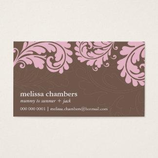 BUSINESS CARD pretty bold flourish