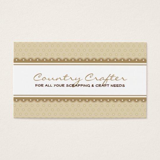 BUSINESS CARD :: pretty crafty 1