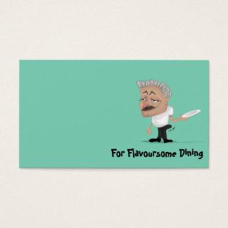 Business card Restaurant Humor