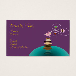 Business card, Serenity Now Business Card