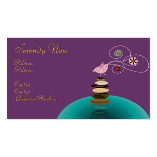 Business card, Serenity Now Pack Of Standard Business Cards