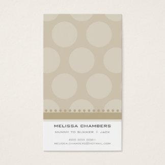 BUSINESS CARD :: simplistic-spots 1P