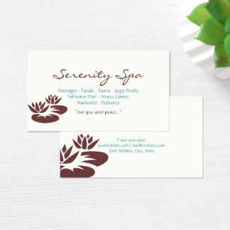 Business Card | Spa Type