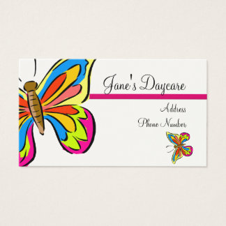 Business Card Template **Butterflies 1