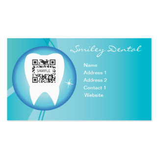 Business Card Template Dental Care