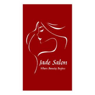 Business Card Template Hair Salon