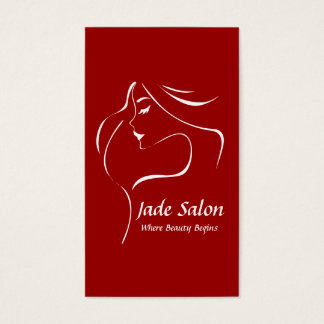 Business Card Template Hair Salon