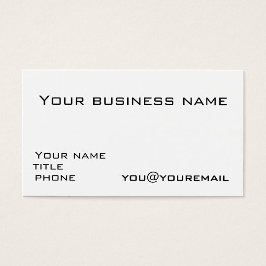 Business card template with social media icons