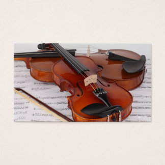 Business Card: Violin Service Business Card