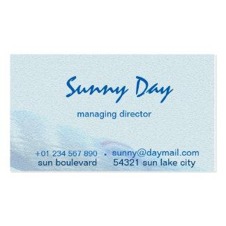 business card - water sport design
