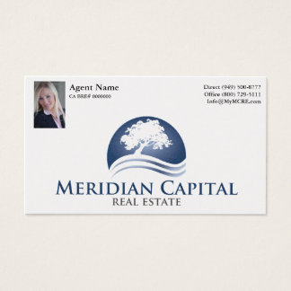 Business Card with Photo- Pearl Finish