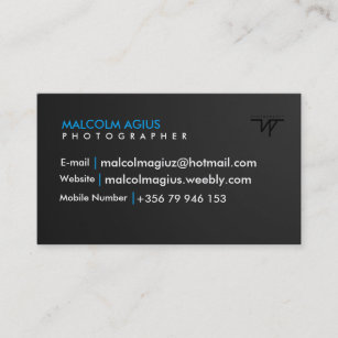 Watermark business cards business card printing zazzle uk business card with your own watermark colourmoves