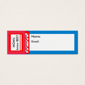 """Business Cards 3"""" x 1"""" Pack 20 The MUSEUM Zazzle"""