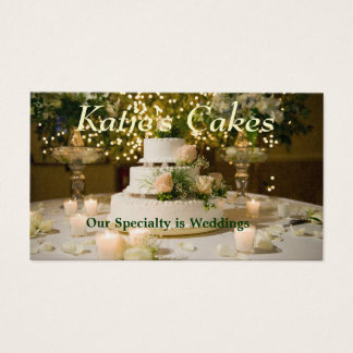 Business Cards--Cake