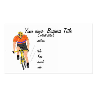 Business cards cycliing sport or Design Your Own