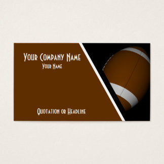 Business Cards Football / Rugby