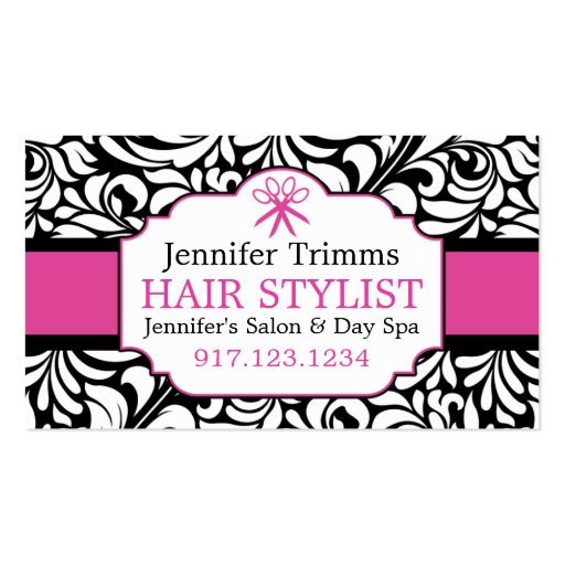 Business Cards For Hair Salon | Beauty School