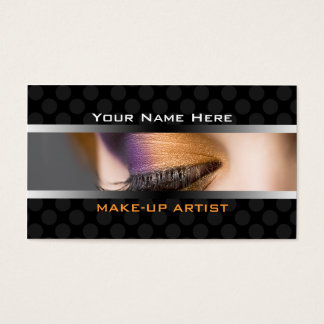 Business Cards For Make Up Cosmetics