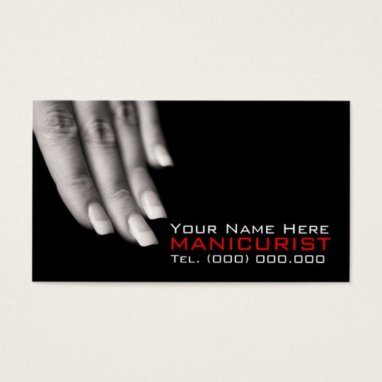 Business Cards For Nail Salons