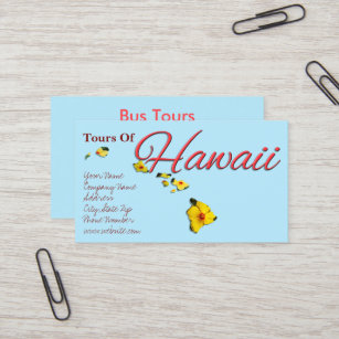 Hawaii travel business cards business card printing zazzle uk business cards hawaii reheart Gallery