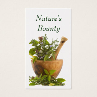 Business Cards--Herbs