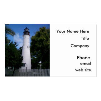 Business Cards, Lighthouse, Key West Pack Of Standard Business Cards