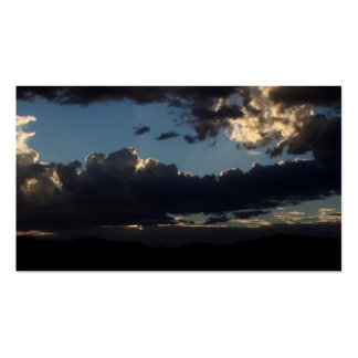 Business Cards - PHOTOGRAPH OF DARK CLOUDS II