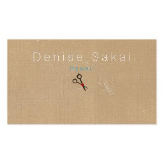 Business Cards Scissors