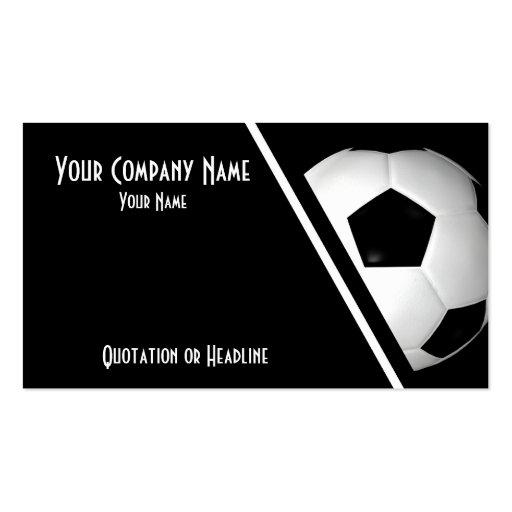 Business Cards Soccer / Football