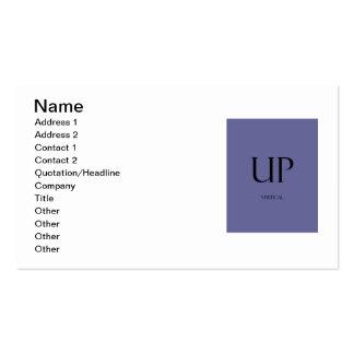 Business Cards Vert Temp