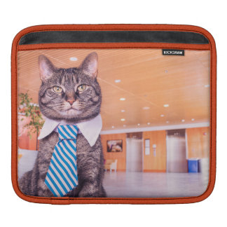 Business Cat Ipad cover