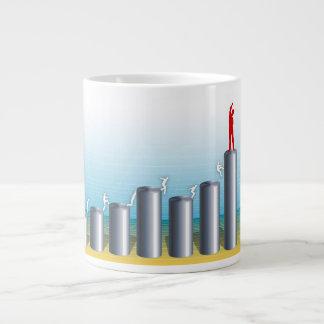 Business Chart Large Coffee Mug