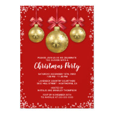 Business Corporate Christmas Holiday Party