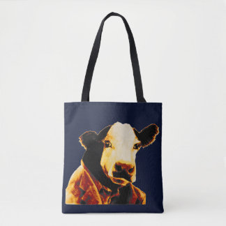 Business Cow Tote
