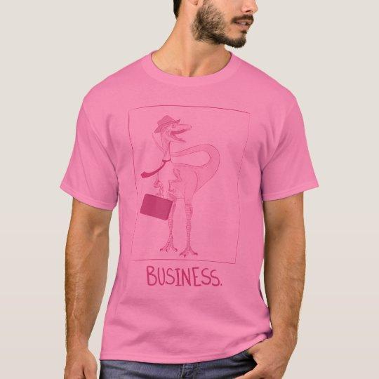 Business Dinosaur T-Shirt