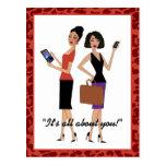 """""""Business Divas"""" Post Cards"""