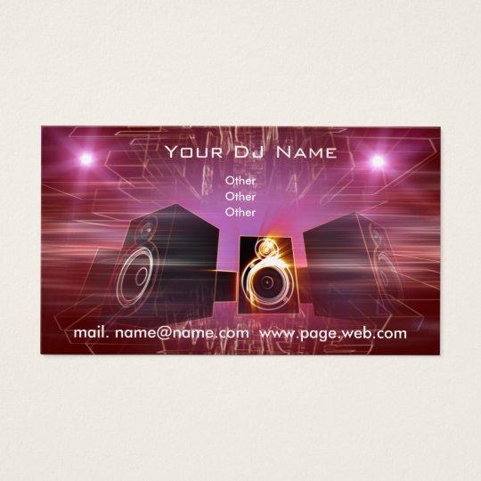 business_DJ Business Card