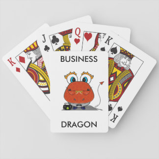 Business Dragon Playing Cards