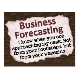 Business Forecasting Postcard