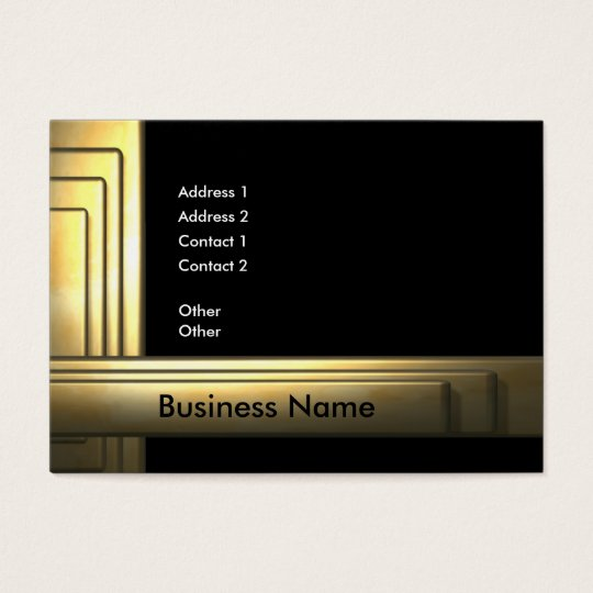 business_gold_big business card