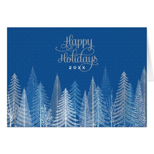 Business Happy Holidays | Winter Scene Card