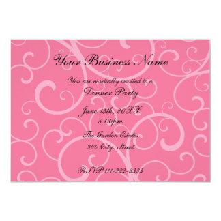 """Business invitation 5"""" x 7"""" invitation card"""