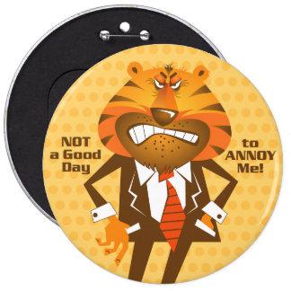 Business Man 6 Cm Round Badge
