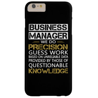 BUSINESS MANAGER BARELY THERE iPhone 6 PLUS CASE