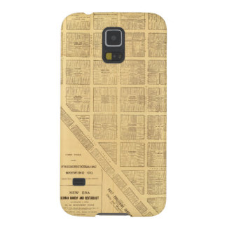 Business Map of San Francisco Galaxy S5 Cases