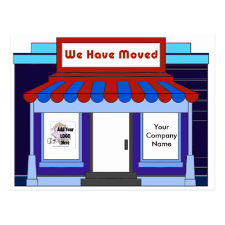 Business Moving Advertising Promoting Postcards